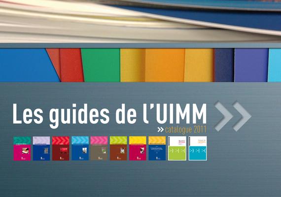 Création et conception d'une plaquette de présentation des guides juridiques de l'UIMM.
