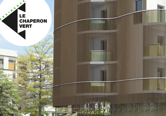 Création et réalisation de la plaquette de commercialisation de logement à accession à la propriété à Gentilly.