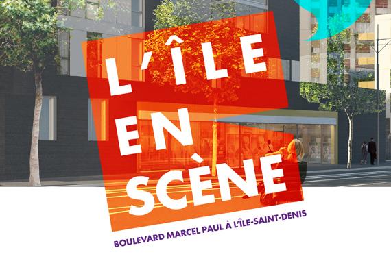 Création et réalisation de la plaquette de commercialisation de logement à accession à la propriété à l'Île Saint Denis.